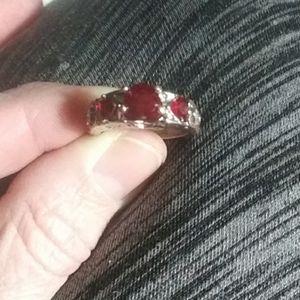 Women's Garnet Ring